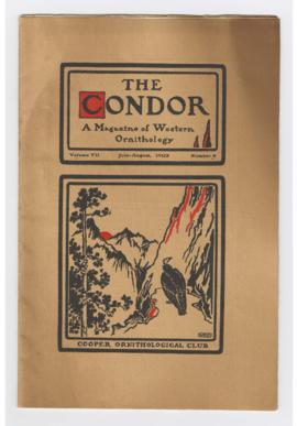 Issue of The Condor magazine