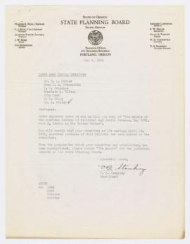 "Letter discussing copy of ""The annals of the American Academy of Political and Social Scienc..."