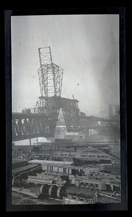 Steel Bridge under construction