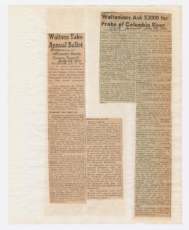 Articles discussing Izaak Walton League Oregon State Council Convention
